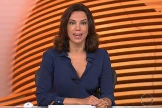 Ana Paula Araújo - Reprodução/TV Globo