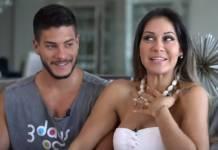 Arthur Aguiar e Mayra Cardi revelam o sexo do bebê/Youtube