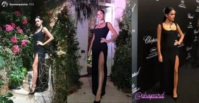 Bruna Marquezine mostra seu look/Instagram