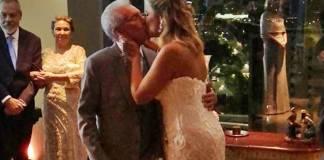 Carlos Alberto de Nóbrega se casa em cerimônia religiosa/Instagram