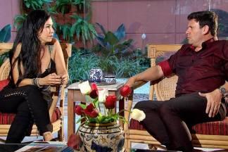 Denize Taccto em entrevista ao Camera Record (Divulgação/Record TV)