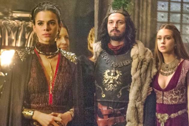 Deus Salve o Rei - Catarina- Afonso e Amália (Globo/Raquel Cunha)