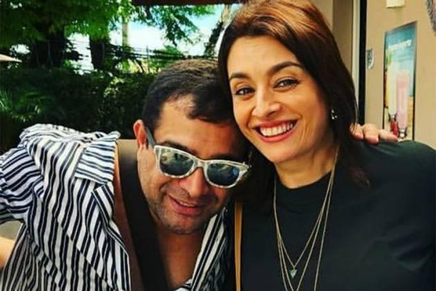 Evandro Santo e Cátia Fonseca - Reprodução/Instagram