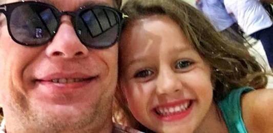 Fabio Assunção com a filha/Instagram
