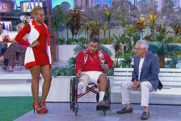 Humorista de Cadeira de Rodas - Divulgação/SBT