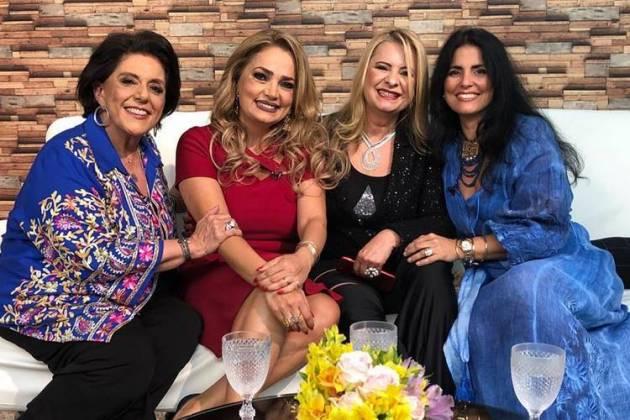 Leda Nagle - Nani Venâncio - Lilian Gonçalves e Thereza Collor/Instagram