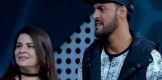 Lilian e MC Créu - Reprodução/Record TV