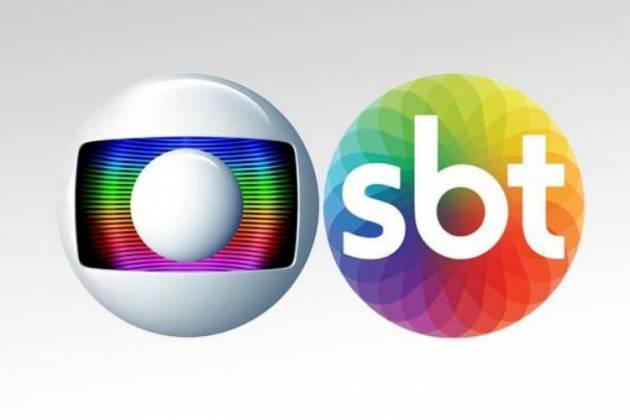 Logo Globo e SBT - Divulgação