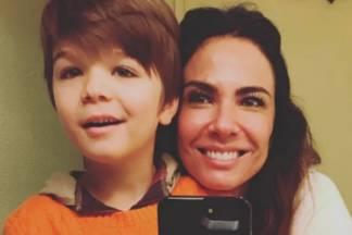 Lorenzo e Luciana-Gimenez - Reprodução/Instagram
