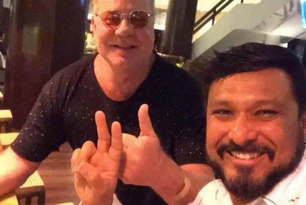 Luiz Fernando e Adriano - Reprodução/Instagram