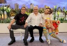 Marcelo Nóbrega, Carlos Alberto de Nóbrega e Dalila Nóbrega - Lourival Ribeiro/SBT