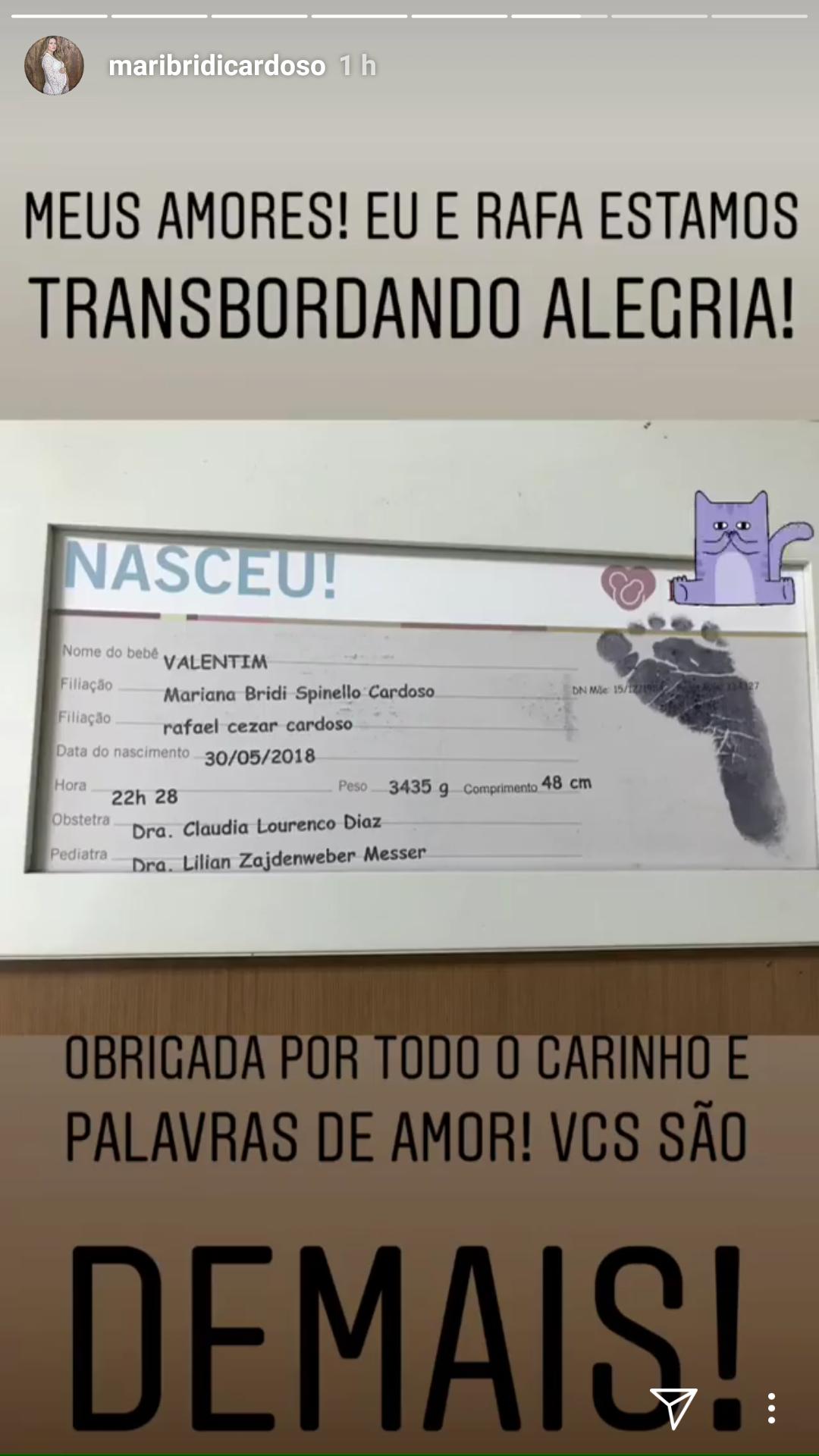 Mariana Bridi/Instagram