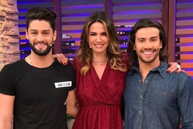 Mariano, Luciana e Munhoz/Instagram