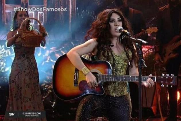 Naiara Azevedo - Reprodução/TV Globo