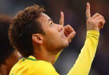 Neymar comemora/Instagram