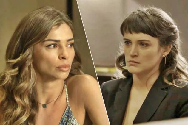 O Outro Lado do Paraiso - Lívia e Clara (Reprodução/TV Globo)