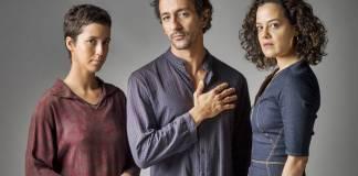 Onde Nascem Os Fortes - Aldina - Samir - Joana (Globo/Estevam Avellar)
