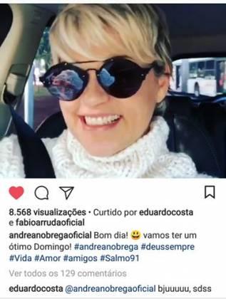Post - Andrea Nobrega/Instagram