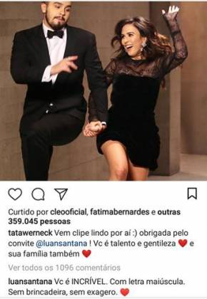 Post - Luan Santana/Instagram