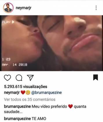 Post - Neymar/Instagram