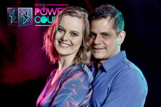 Power Couple - Liége e André (Edu Moraes/Record TV)