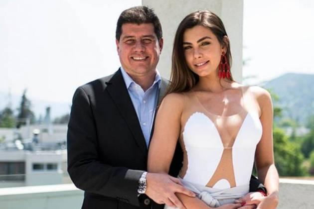 Rodrigo Norambuena e Letícia Datena - Divulgação