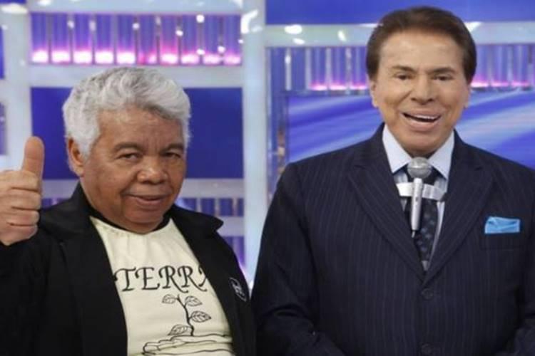 Roque e Silvio Santos/SBT