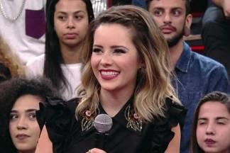 Sandy - Reprodução/TV Globo