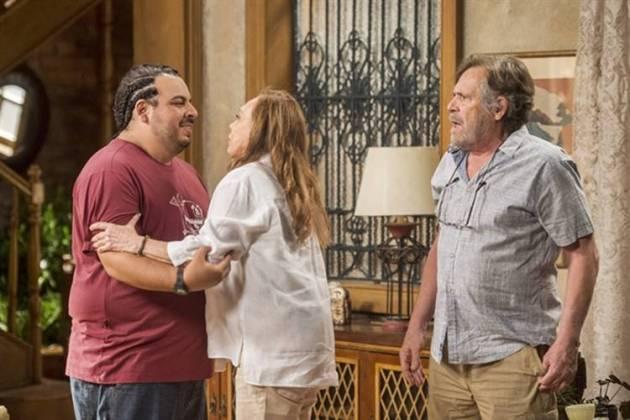 Segundo Sol - Família Falcão descobre que Beto esta vivo (Globo/Mauricio Fidalgo)