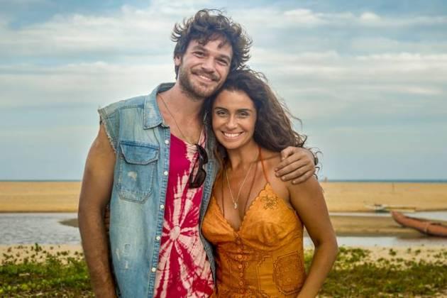 Segundo Sol - Luzia e Beto (Globo / João Cotta)