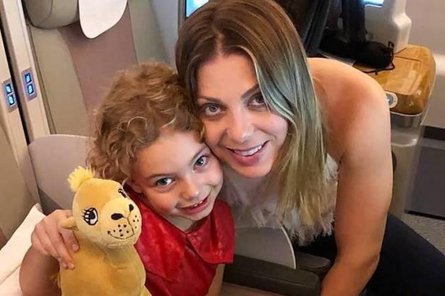 Sheila Mello com a filha/Instagram