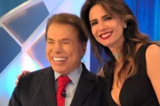 Silvio Santos e Luciana Gimenez - Divulgação