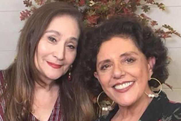 Sonia Abrão e Leda Nagle/Instagram