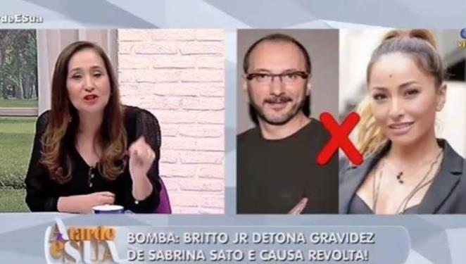 Sonia detona Britto (Reprodução/Rede TV)