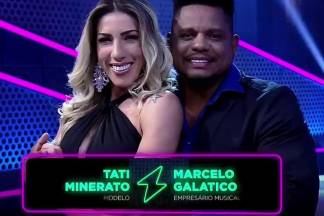 Tati Minerato e Marcelo Galatico - Reprodução/Record TV