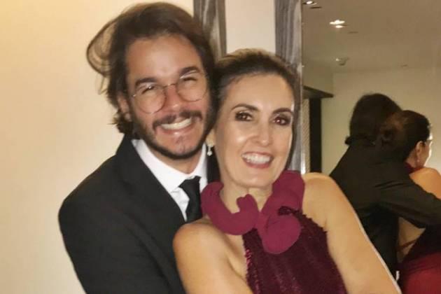 Tulio Gadelha e Fátima Bernardes/Instagram