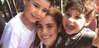 Wanessa com os filhos/Instagram
