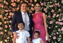 Wesley Safadão, Thyane Dantas e crianças/Instagram