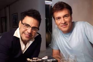 Zezé Di Camargo e Tony Carreira/Instagram