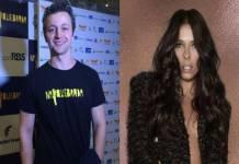 Lucas Lima e Adriane Galisteu - Montagem/Área VIP