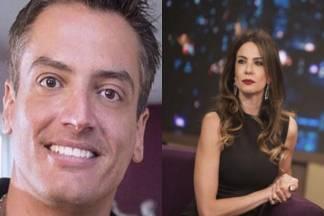 Leo Dias e Luciana Gimenez - Montagem/Área VIP