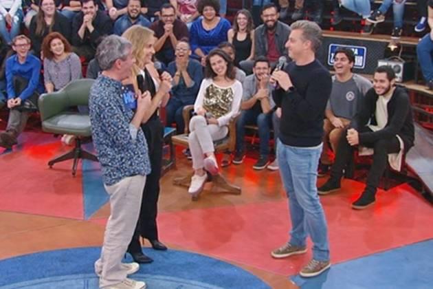 Altas Horas - Serginho com Angélica e Huck (TV Globo)