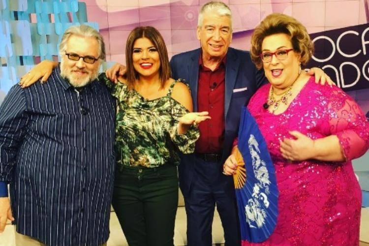 Silvio Santos convida time original para voltar ao Fofocalizando