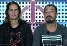 Aritana e Paulo - Reprodução/Record TV