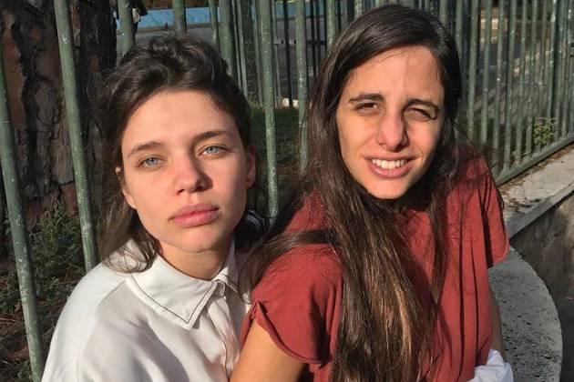 Bruna Linzmeyer e a namorada - Reprodução/Instagram