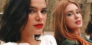 Bruna Marquezine e Marina Ruy Barbosa - Reprodução/Instagram