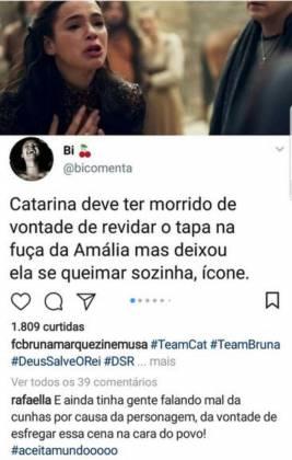 Print do comentário Rafaella Santos - Reprodução/Instagram