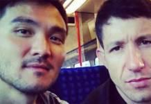 Dan Nakagawa e Fabiano Augusto - Reprodução/Instagram