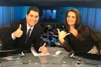 Evaristo Costa e Carla Vilhena - Reprodução/Twitter