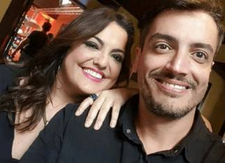 Fabíola Reipert e Leo Dias - Reprodução/Instagram